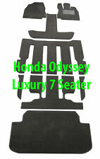 To suit Honda Odyssey Luxury 7 Seater Car Floor Mats Kit 2014 - On