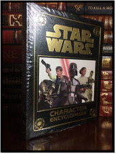 Star Wars Character Encyclopedia Sealed Easton Press Leather Collectible Gift