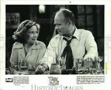 1999 Press Photo Kurtwood Smith & Debra Jo Rupp star in That 70s Show on Fox