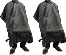 LOT 2~Salon Barber Hairdressing Gown Dye Styling Cutting Shampoo Hair Cape Cloth