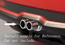 1/10 RC Car Truck Chrome Exhaust Set  A 48281