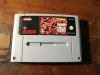 Fever Pitch Soccer Snes PAL Eur Testato/Tested & Working Spedito in 48 H