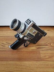 Canon Auto Zoom 518 SV Super 8 Movie Camera Not Tested