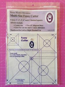 "Quadrat Lineal Multi-Size Fussy Cutter Marti Michell 1"" - 4"" und 6"" Patchwork"