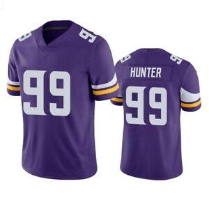 Danielle Hunter Minnesota Vikings V-neck Short-sleeve Jersey