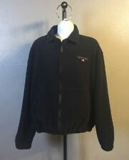 VTG 90s Polo Sport Ralph Lauren Spell Out Fleece Jacket Mens Large Hip Hop