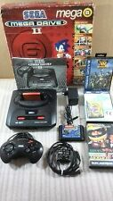 Consola Sega Megadrive 2 Mega 6 + juegos