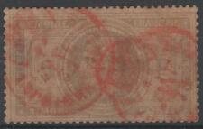 "FRANCE STAMP TIMBRE N° 33 "" NAPOLEON III 5F "" OBLITERE CACHET A DATE ROUGE  N136"