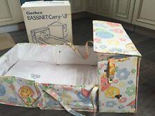 Gerber Baby Carry All Bassinet Vintage in Original Box Model 79350-525