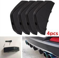 4x PVC Auto Heckstoßstange Diffusor Haifischflosse Spoiler Formstelle garnieren