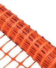 Plastic Barrier Safety Pet Event Mesh Fence Netting Net Orange 1m x 50m