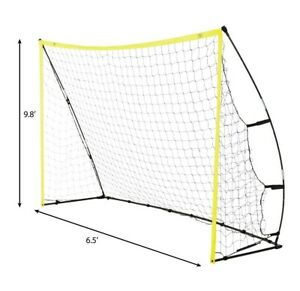 Athletic Works Large Portable Soccer Goal 10 ft X 6 ft New in Box