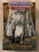 King Chooblah MOTUC Masters of the Universe Classics MOTU w/ mailer box