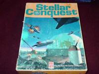 Avalon Hill - STELLAR CONQUEST - Intergalactic Battle Game  (Punched)