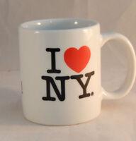 I Heart NY I Love NY Coffee Mug Vacation Souvenir