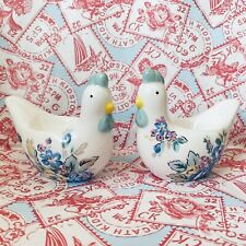 More details for cath kidston two x hen chicken egg cup display ornament ~ bnib ~ kitson kidson