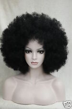 2017 Sexy Women New short Curly Black Cosplay Anime Hair Wigs + Wig Cap gift
