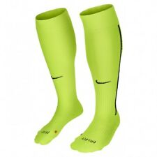 NIKE Vapor Classic III Cushioned OTC Soccer Socks sz X-Large (12-15) Volt/ Black