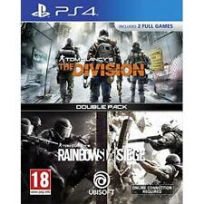 PlayStation 4 Tom Clancys The Division Rainbow Six S VideoGames
