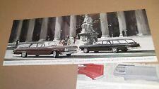 ★1963 DODGE CUSTOM 880 SERIES WAGON ORIGINAL DEALER ADVERTISEMENT AD 63 ART