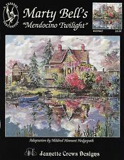 "100 DMC THREADS + MARTY BELL'S ""MENDOCINO TWILIGHT"" by JEANETTE CREWS #620442"
