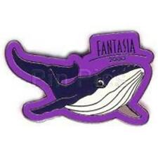 WDW FANTASIA 2000 WHALE Purple Disney PIN 3333