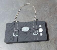Handy Tasche**Modell:Koffer mit Kette* *Hülle Kette*Phone** Schwarz*