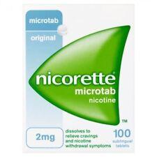 Nicorette 2 mg 100 Comprimés Microtab 1 2 3 6 12 packs