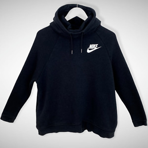 Nike Spellout Oversized Black Hoodie