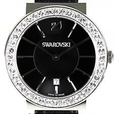 Swarovski 1116550 Citra Sphere Mini Black and Stainless Steel Watch