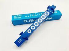 O-Ring  Measure Guage Slide Style Make Work Smart Blue O Ring PRO Gauge