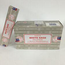 Nag Champa White sage 2018 FRESH stock 15gm x 12 packs