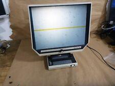 Vintage _ Micron 385 Microfiche Reader - Working