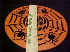 Wilton Cake Stencil Halloween Pumpkin Spider Stencil NEW Jacko Lantern  Reusable