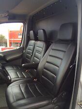 VW Crafter W906 Sprinter Passform Sitzbezüge Autositzbezüge Kunstleder schwarz