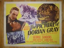 The Picture Of Dorian Gray ORIGINAL 1945 HALF-SHEET POSTER Style A GEORGE SANDER