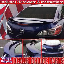 2010 2011 2012 2013 Mazda 3 2 Post Factory Style Spoiler Wing PRIMER