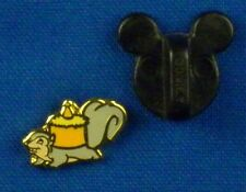 Squirrel with Nut Mini Pin from Velvet Heart Princess Box Disney Pin # 52039