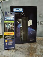 OralB Genius X Limited Edition Midnight Black With Extra Brush 4 Heads