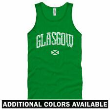 Glasgow Tank Top - Scotland Rugby Football Rangers Warriors - Men / Women XS-2XL