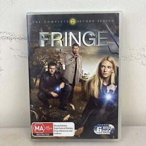 FRINGE - SEASON 2 (R4 DVD, 6-DISCS, 22 EPISODES) JOSHUA JACKSON