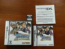 Phoenix Wright: Ace Attorney Trials and Tribulations (Nintendo DS, 2007) - CIB!