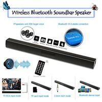 BS-28B Wireless Bluetooth Soundbar Subwoofer FM Radio 3,5mm AUX TF Lautsprecher