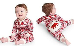 Baby sleepsuit babygrow outfit footless HATLEY fair isle 3 6 12 18 24 m RRP £24