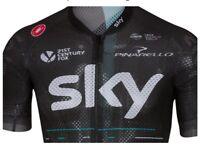 Castelli Team Sky Climber's 2.0 Cycling Jersey Mens Top Large New Pro Rapha UK