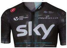 CASTELLI TEAM SKY CLIMBER'S 2.0 Ciclismo Jersey Mens Top Large NUOVO PRO RAPHA UK