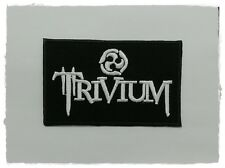 New Trivium Patch Sew Iron On Embroidered Craft Transfer Rock Band Heavy Metal