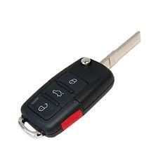 New 4 Buttons Folding Flip Key Remote Case for Volkswagen VW GTI 2006 2007 2008