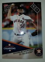 Houston Astros Topps Now 2017 World Series Collector's Edition Charlie Morton #9