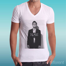 T-SHIRT UOMO a V THE WOLF OF WALL STREET WANTED IDEA REGALO ROAD TO HAPPINESS